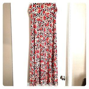 LuLaRoe Maxi Skirt - Slinky
